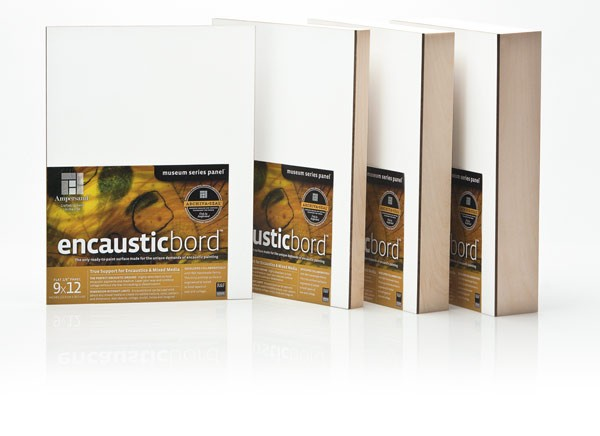 Encausticbord is available in 4 depths to meet your artistic needs!