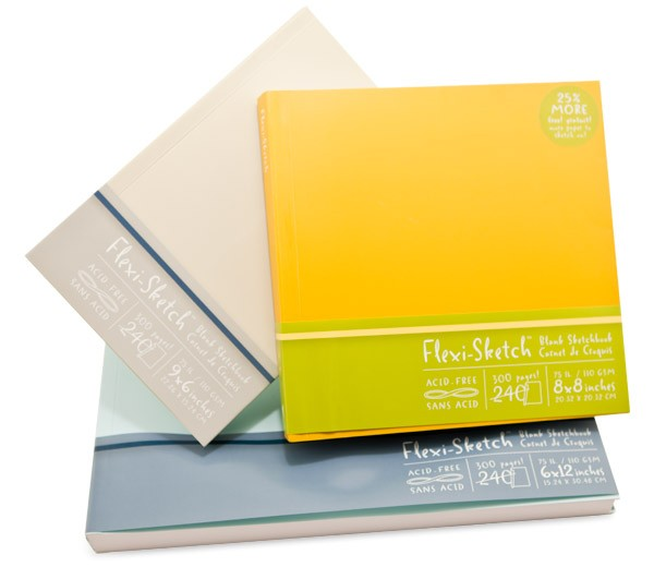Flexi Sketch Journals
