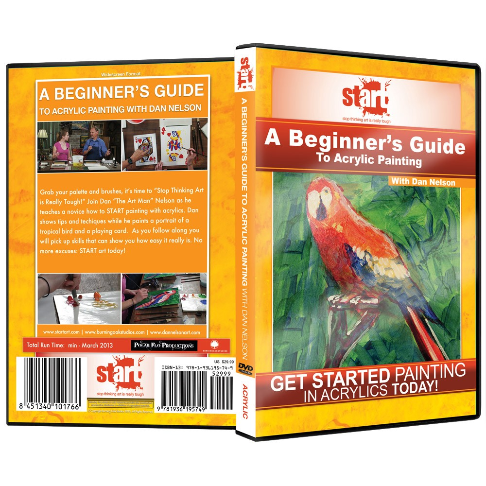 START Art: Acrylic Painting Instructional DVDs for Beginners