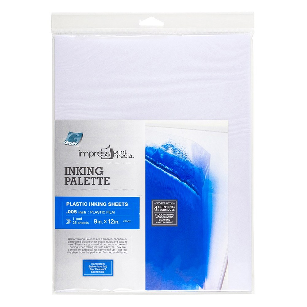 Grafix Impress Inking Palette Pad