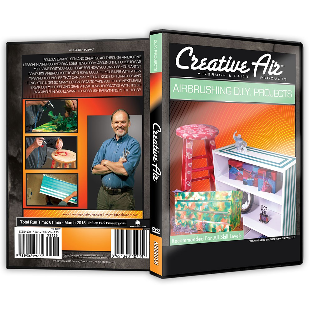 Creative Air Airbrushing DIY Projects DVD