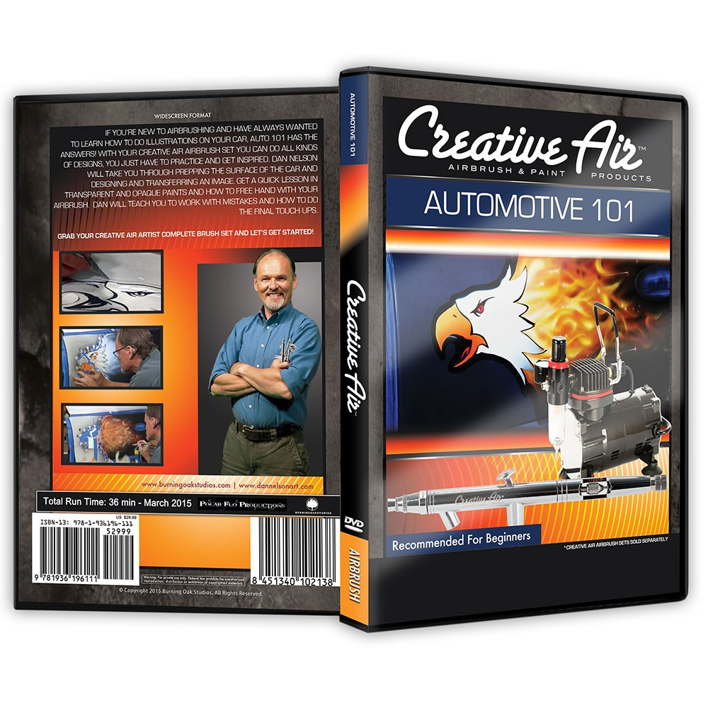 Creative Air Automotive Airbrushing 101 DVD