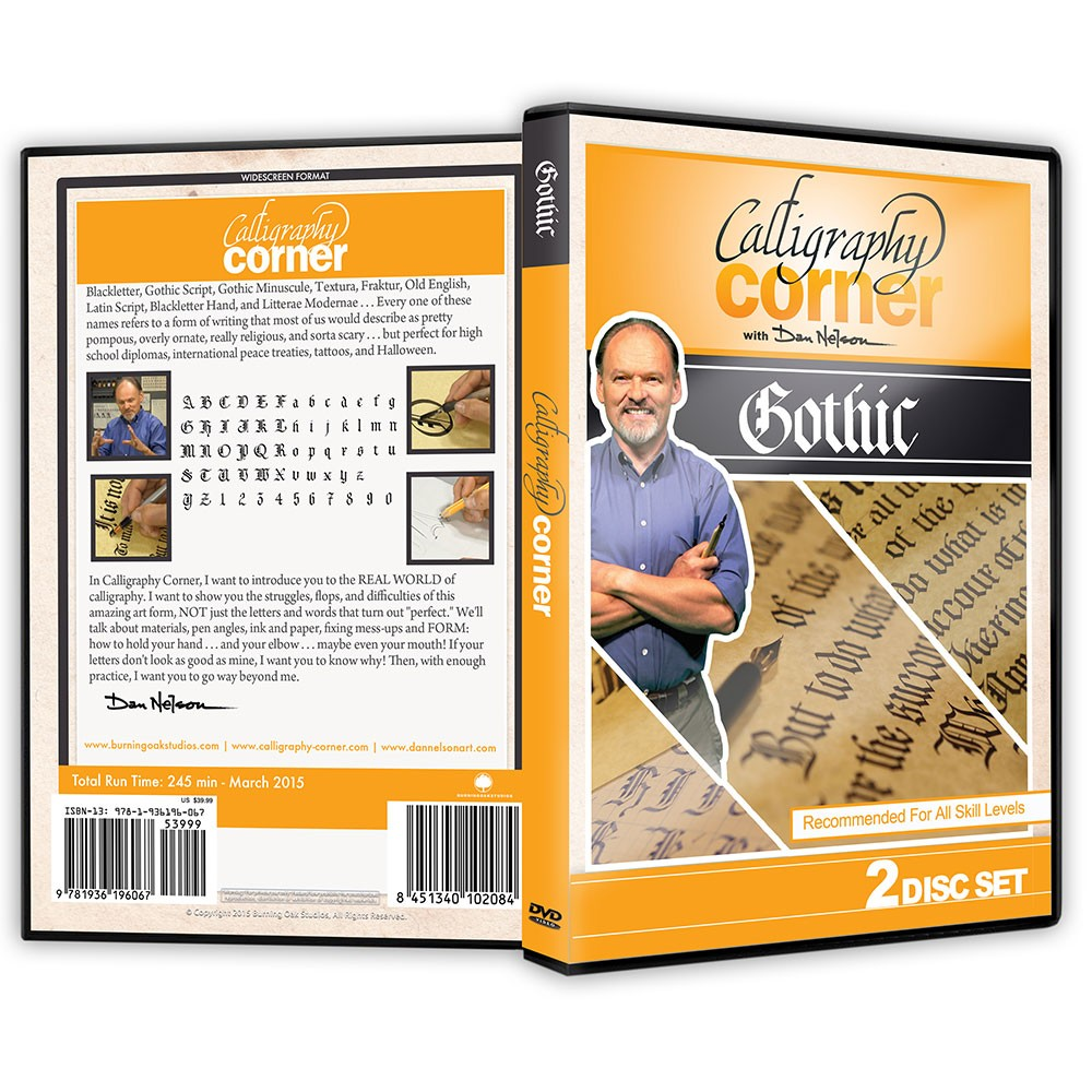 Learn Calligraphy Gothic DVD