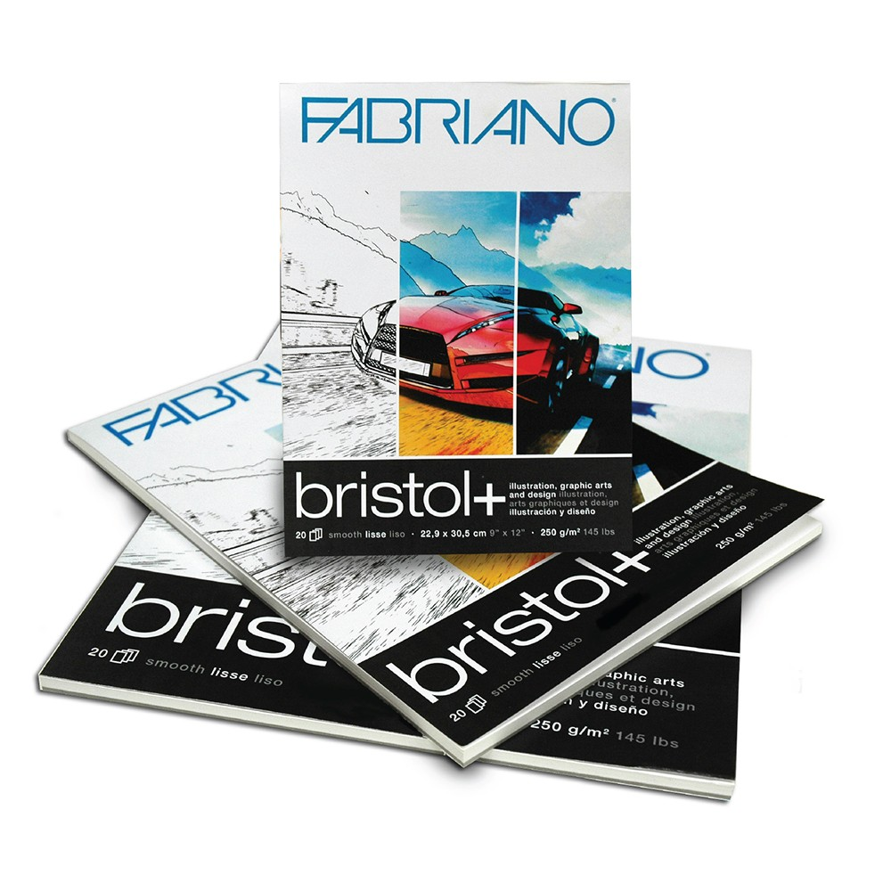 Fabriano Bristol+ Paper Pads