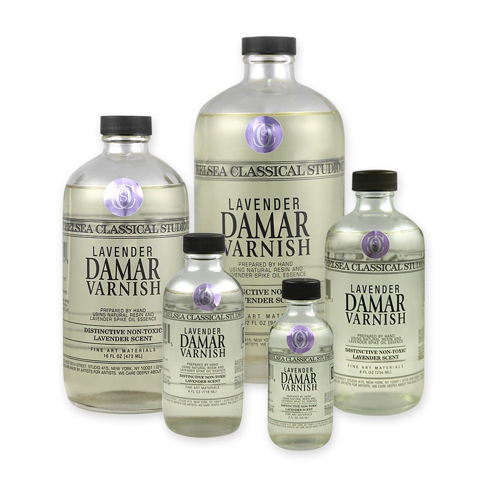 Chelsea Classical Studio Medium Lavender Damar Varnish