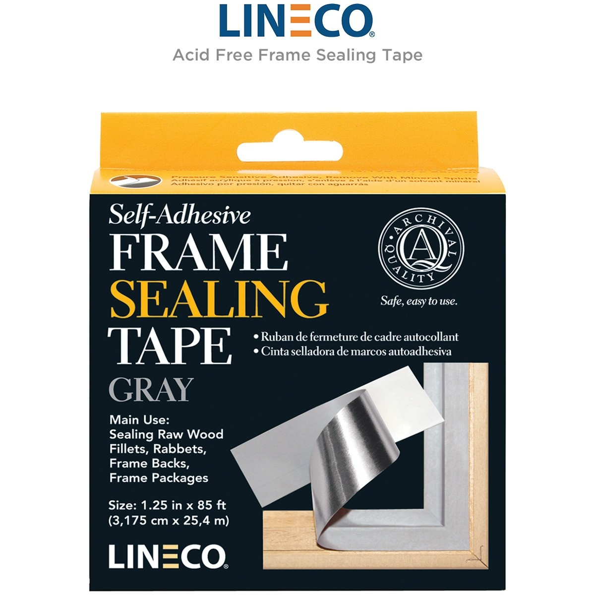 Acid Free Frame Sealing Tape