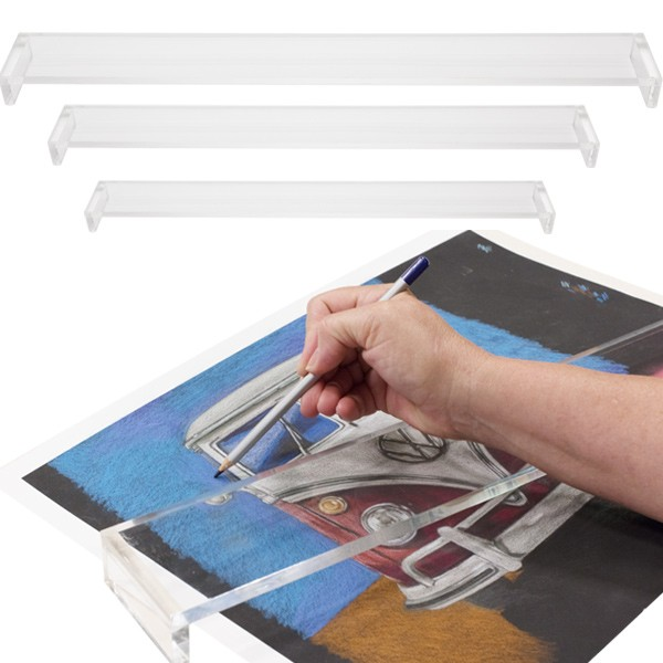 Artist Leaning Bridges - Hand Wrist Rest For Painting, Drawing & Sketching