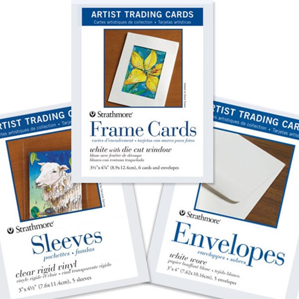 Strathmore Artist Trading Cards envelopes pack of 5 PACK OF 6