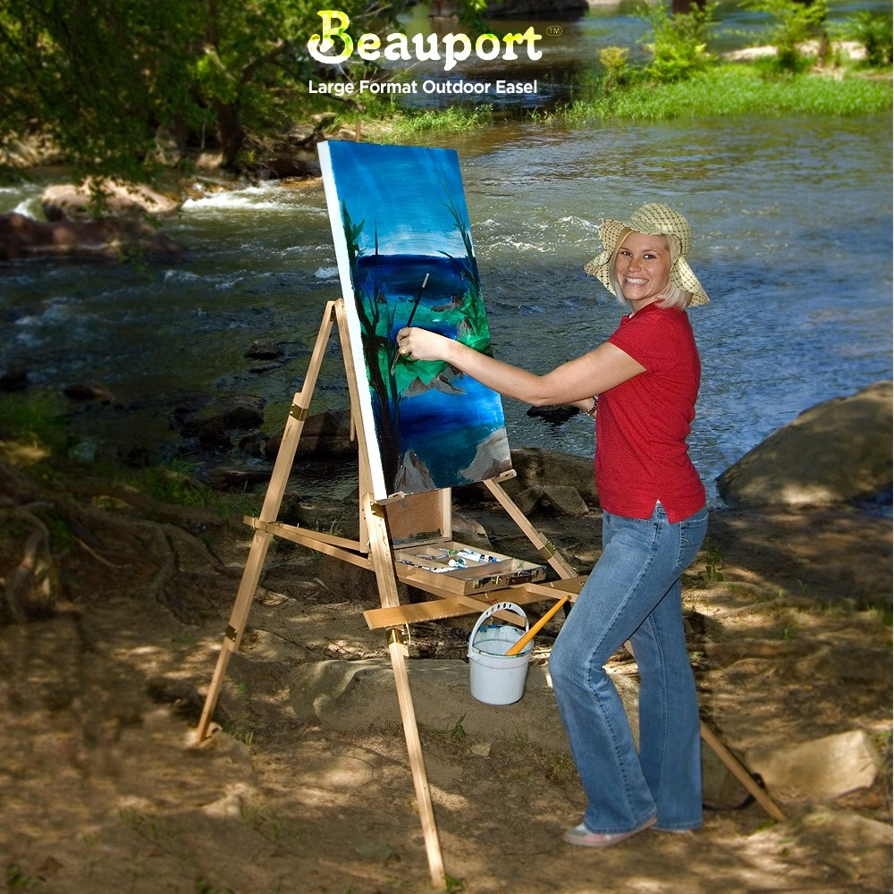Beauport Large Format Outdoor Easel