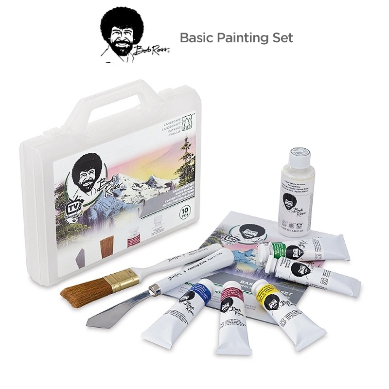 Bob Ross Basic Painting Set 10 Piece Landscape Set