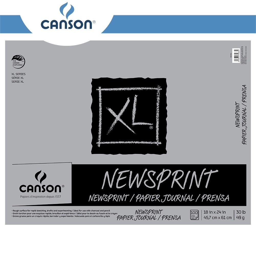 Canson XL Newsprint Sketchbooks