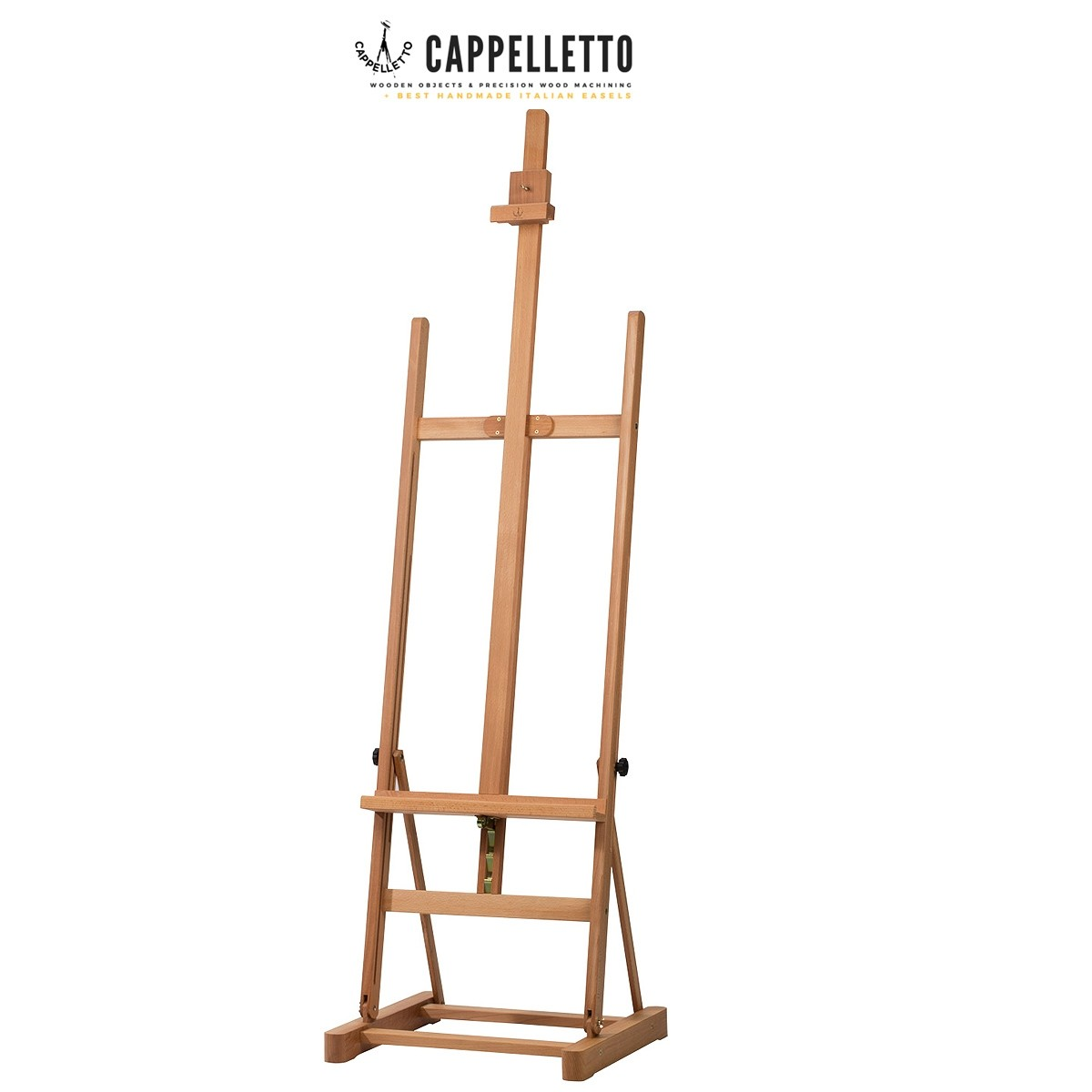 Cappelletto angelica quality beechwood studio h-frame easel