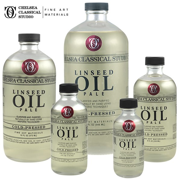 Chelsea Classical Studio Clarified Pale Cold Pressed Linseed Oil