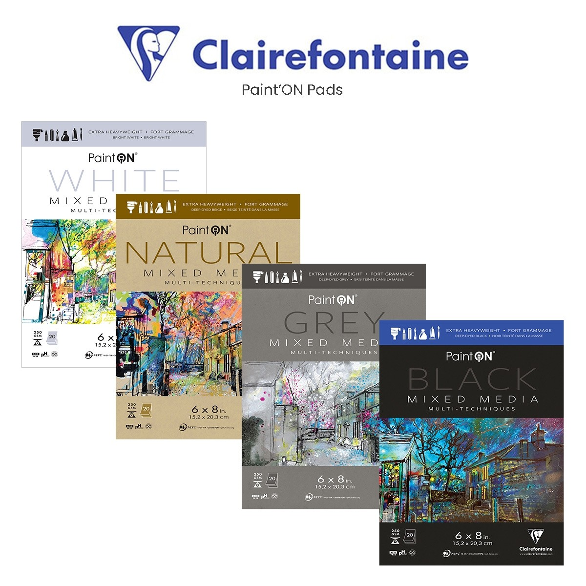 Clairefontaine Paint'ON Pads