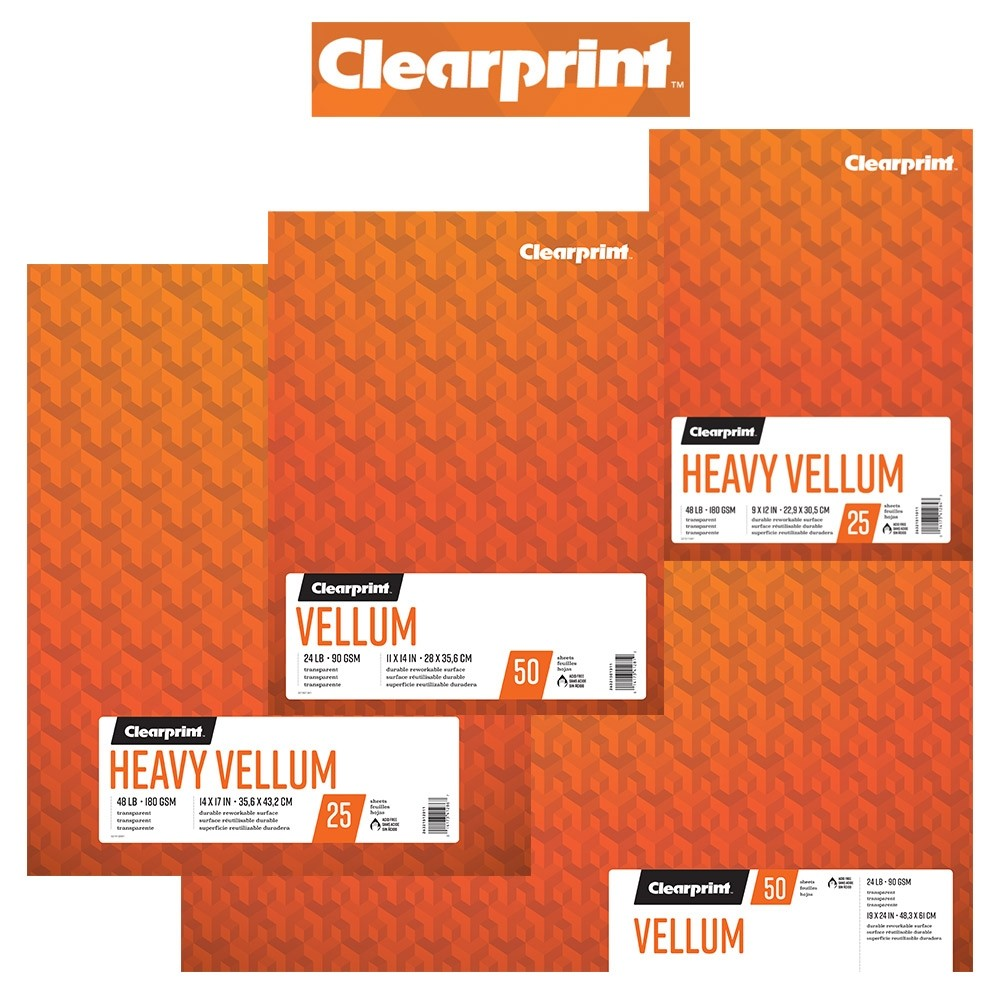 Clearprint Vellum Pads