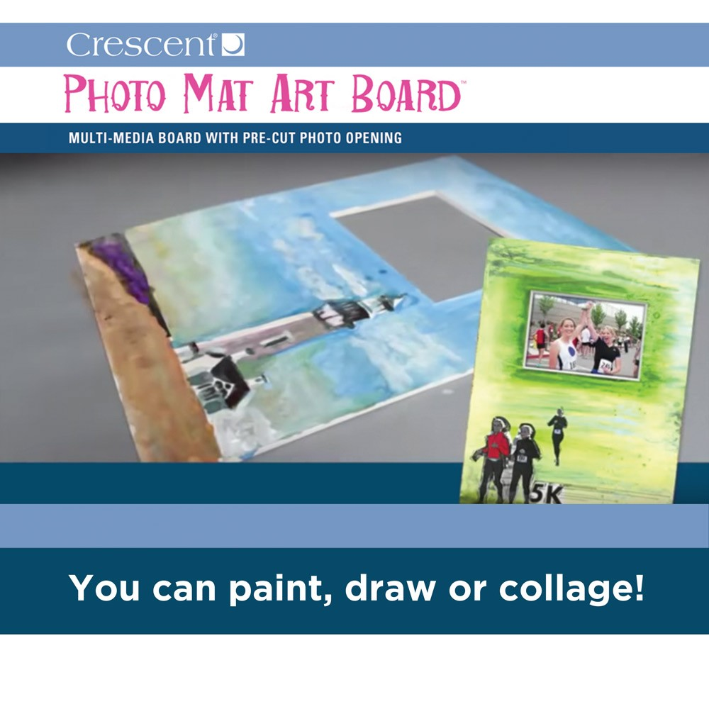 Crescent Photo Mat Art Boards