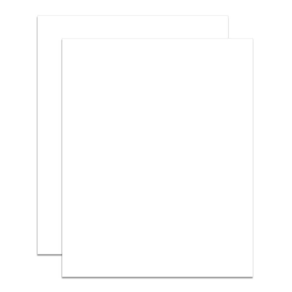 Crescent Select Conservation Solids Matboard - 8 Ply Vivid White