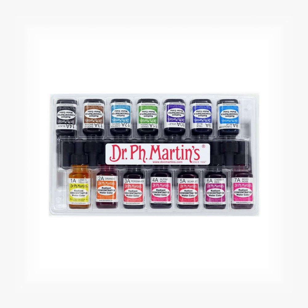 Dr. Ph. Martins Radiant Concentrated Watercolor Sets