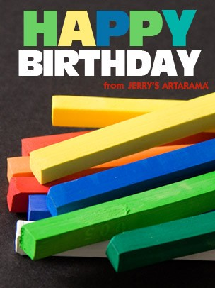 Birthday Art e-Gift Card - Chalk eGift Card