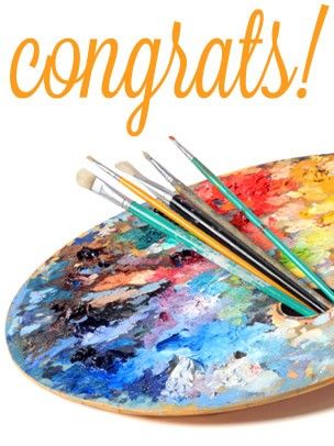 Congratulations Art eGift Card - Palette eGift Card