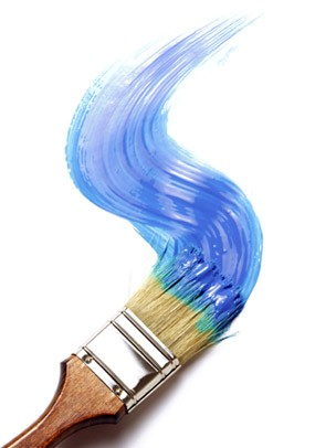 Creative Art eGift Card - Paint It Blue - Electronic Gift Card eGift Card