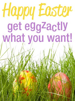 Easter Art eGift Card - Eggzactly What You Want - electronic gift card eGift Card
