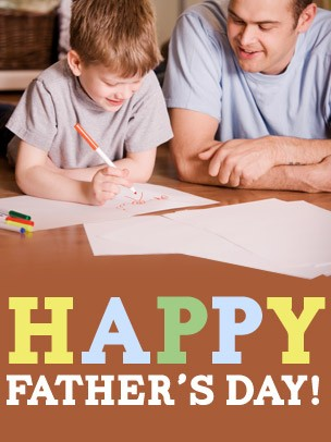 Father's Day Art eGift Card - Father and Son eGift Card