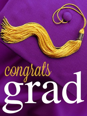 Graduation - Purple Graduation Cap eGift Card