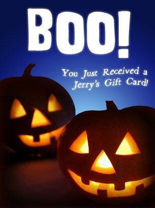 Halloween Art eGift Card - Boo - electronic gift card eGift Card