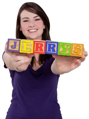 Jerry's Art eGift Card - Spelled with Blocks eGift Card