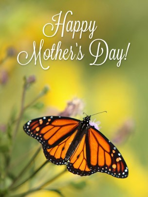 Mother's Day Art eGift Card - Monarch Butterfly - electronic gift card eGift Card