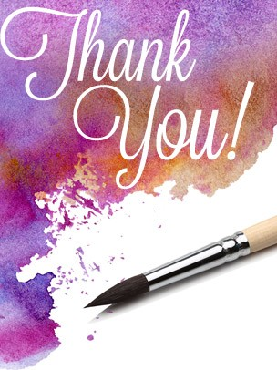Thank You Art eGift Card - Watercolors eGift Card