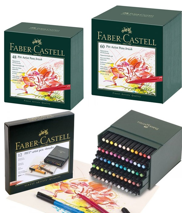 Faber Castell Calendar Art Competition : Pitt artist brush pen sets faber castell jerry s artarama