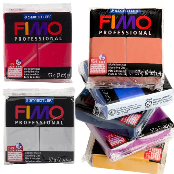 FIMO Professional Modeling Clays All Colors