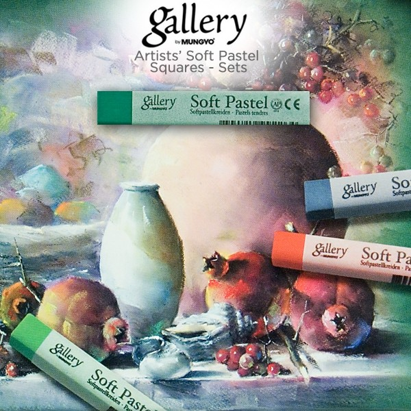Gallery By Mungyo Artists' Soft Pastel Squares Sets