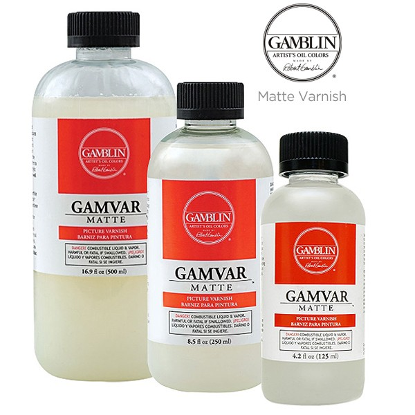 Gamblin Gamvar Matte Varnish