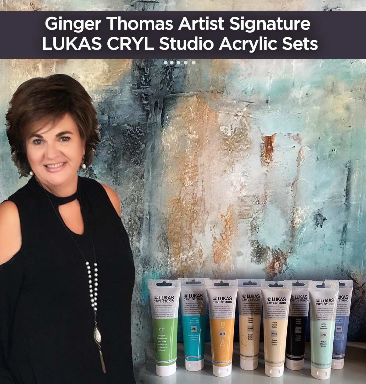 Ginger Thomas Signature LUKAS Cryl Studio Acrylic Sets