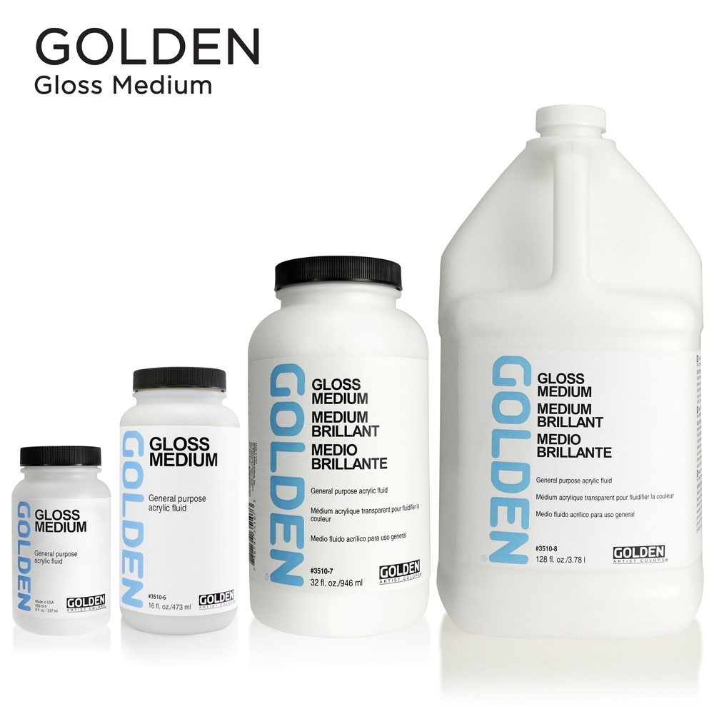 Golden Gloss Mediums