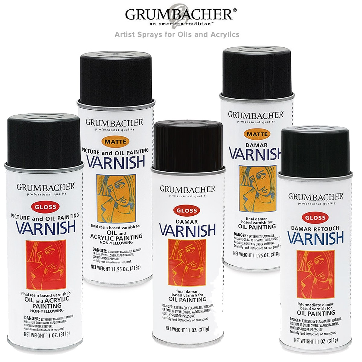 Grumbacher Artist Sprays Oil Acrylic Painting Jerry S