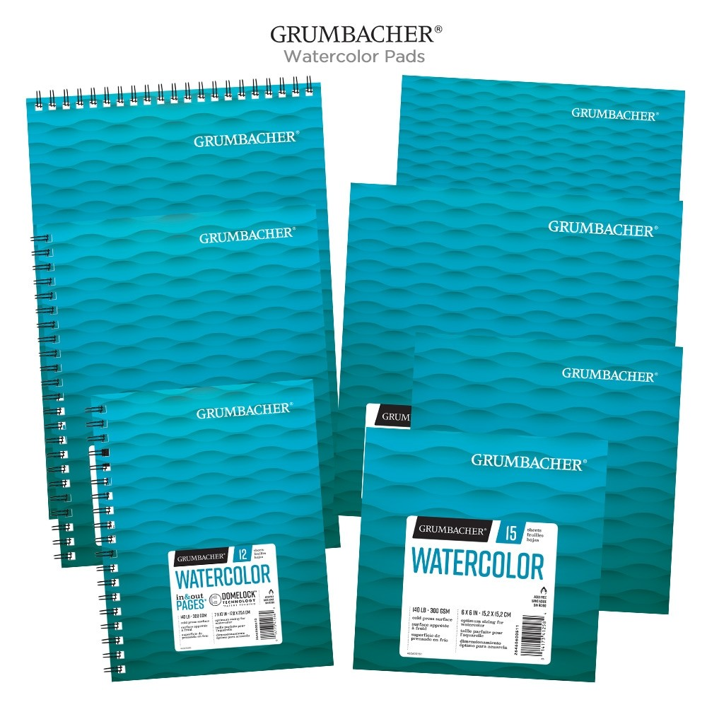 grumbacher watercolor in out pads jerry s artarama