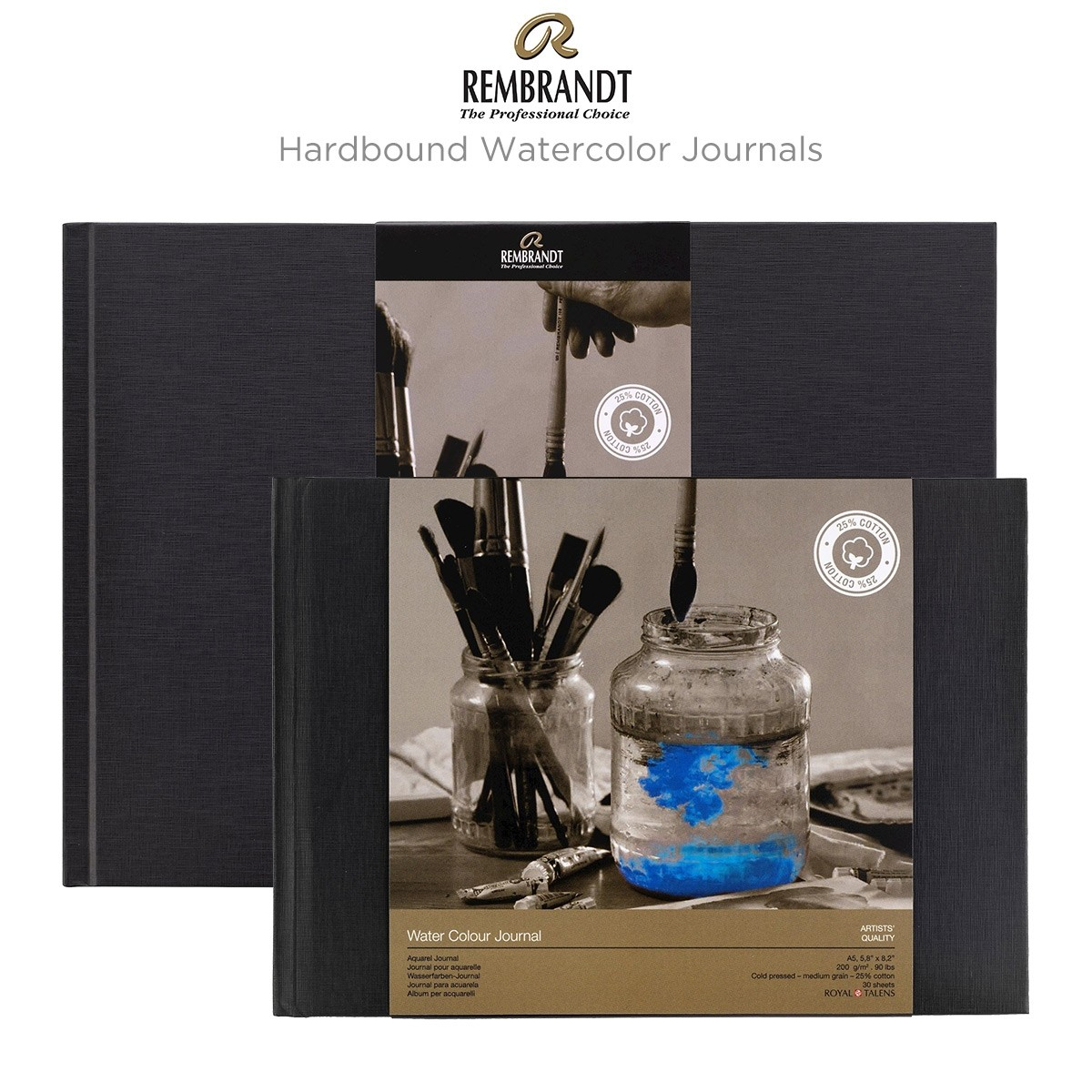 Rembrandt Hardbound Watercolor Journals