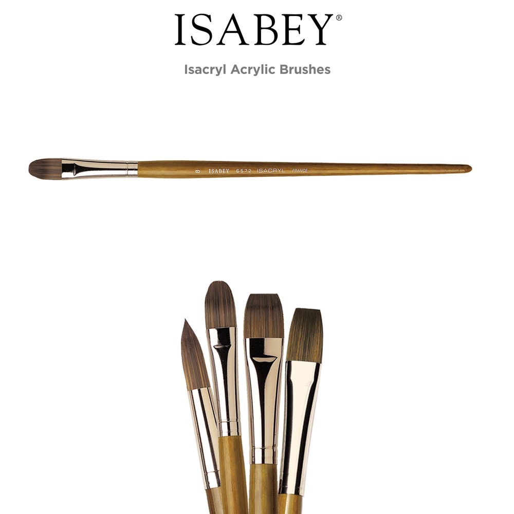 Isabey Isacryl Acrylic Brushes