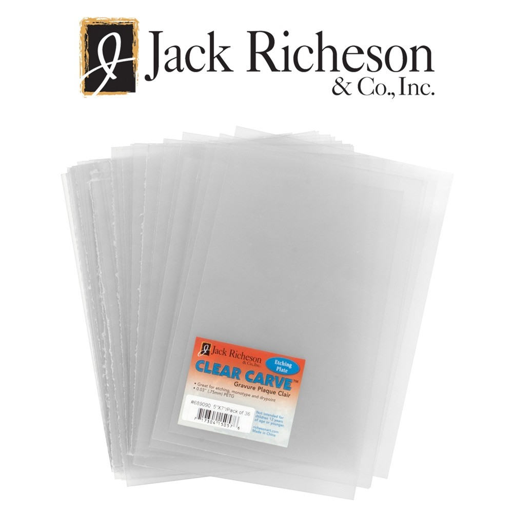 Jack Richeson Clear Carve Etching Plates