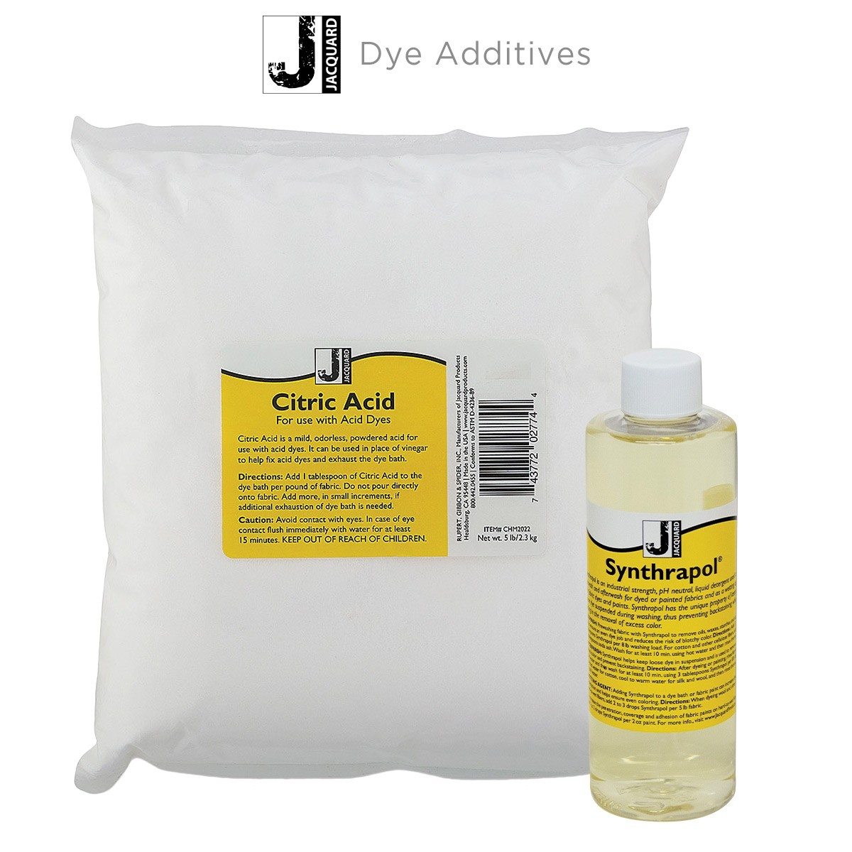 Jacquard Dye Additives