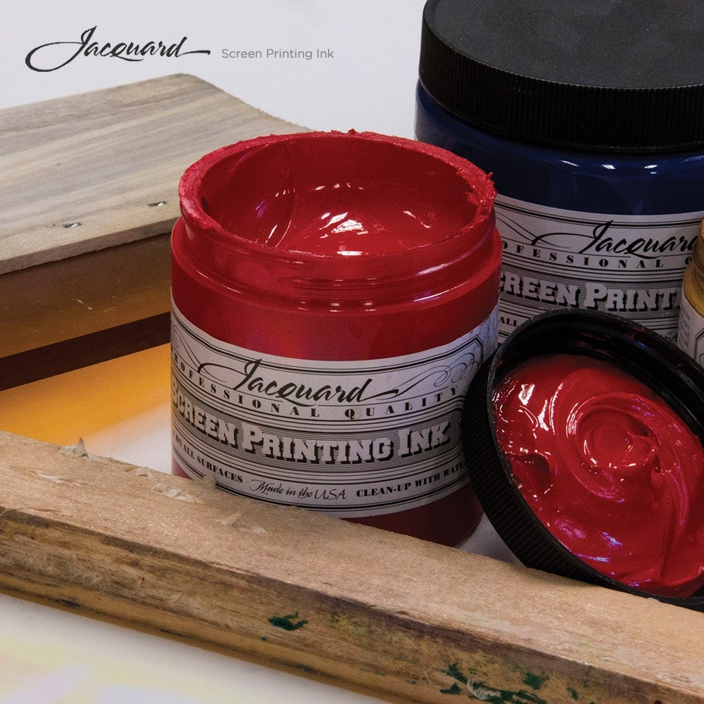 Jacquard Screen Printing Ink