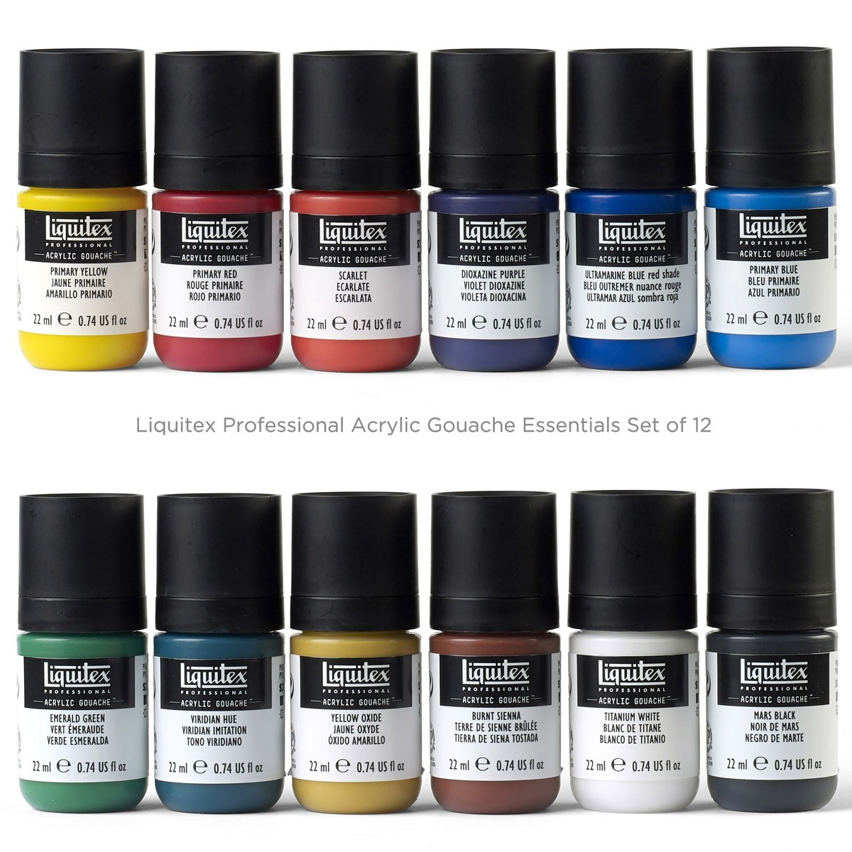 Liquitex Professional Acrylic Gouache Essentials Set