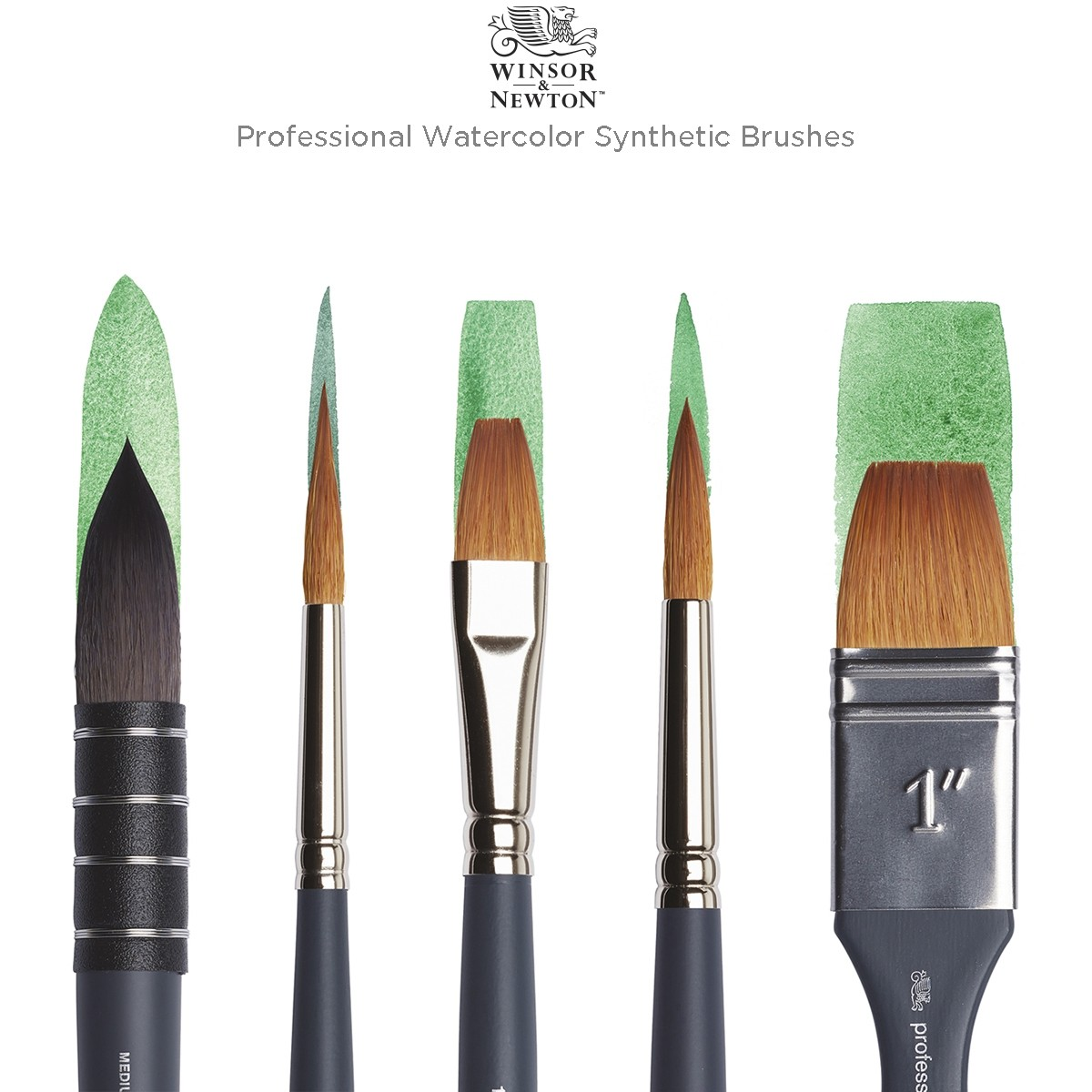 Winsor & Newton Professional Watercolor Synthetic Brushes