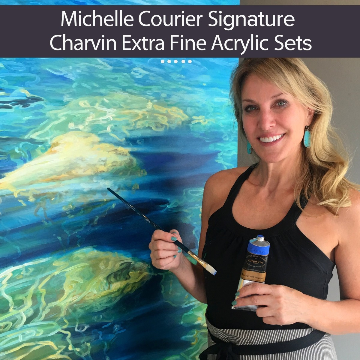 Michelle Courier Signature Charvin Extra-Fine Acrylics Sets