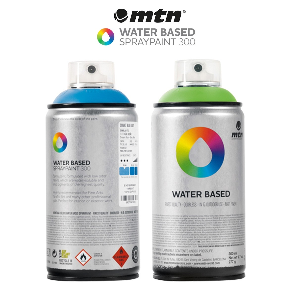 Montana Water-Based Spray Paint