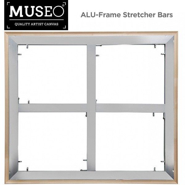 MUSEO ALU-Frame Aluminum Stretcher Bars & Parts - Jerry\'s Artarama